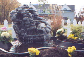 Rock Fountain Carving Shows